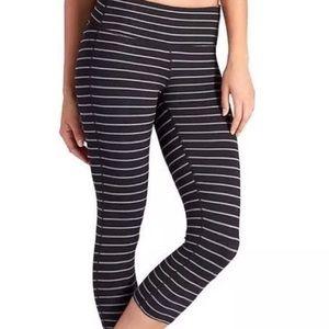 Athleta stripe leggings